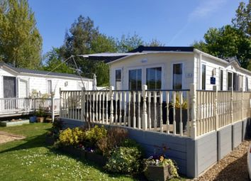 Thumbnail 2 bed mobile/park home for sale in Lutton Gowts, Lutton, Spalding