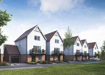 Thumbnail 4 bed town house for sale in Coppice Drive, Dunton Green, Sevenoaks