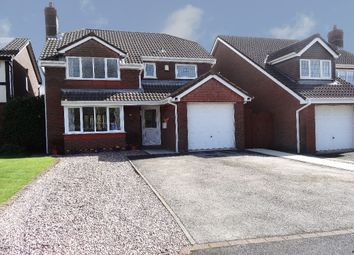 Thumbnail 4 bedroom detached house for sale in The Evergreens, Cottam, Preston