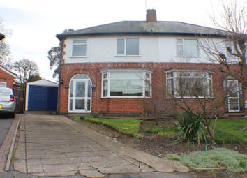 Thumbnail 3 bed terraced house to rent in Greenland Avenue, Leicester