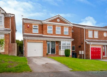 Thumbnail 4 bed detached house for sale in Abbeyhill Close, Ashgate, Chesterfield
