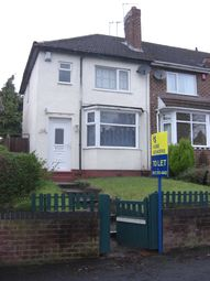 Thumbnail 3 bed semi-detached house to rent in Old Oscott Lane, Great Barr