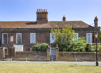 The Wardrobe, Old Palace Yard, Richmond, Surrey TW9. 3 bed end terrace house for sale
