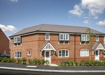 "Thumbnail 3 bed semi-detached house for sale in ""Faringdon II"" at Robell Way, Storrington, Pulborough"