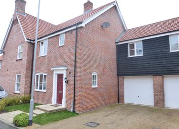 Thumbnail 3 bedroom semi-detached house for sale in Cozens-Wiley Road, Little Plumstead, Norwich