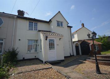 Thumbnail 4 bedroom end terrace house for sale in Coke Road, Norwich, Norfolk