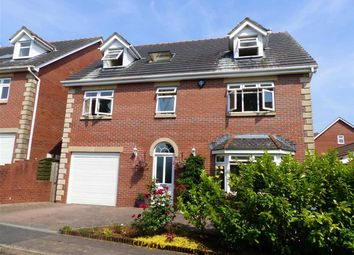 Thumbnail 6 bed detached house for sale in Oakwood House, Dinham Road, Caerwent