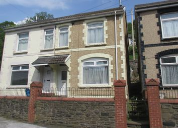 Thumbnail 2 bed semi-detached house for sale in Greys Place, Merthyr Vale, Merthyr Tydfil
