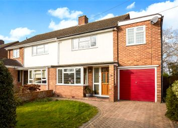 Thumbnail 3 bed semi-detached house for sale in Milton Drive, Shepperton, Surrey