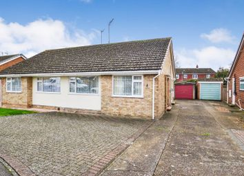 Thumbnail 2 bed semi-detached bungalow for sale in Hamilton Crescent, Sittingbourne