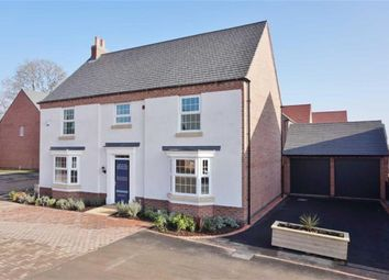 "Thumbnail 5 bed detached house for sale in ""Henley"" at Longbreach Road, Kibworth Harcourt, Leicester"