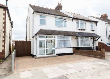 Thumbnail 3 bed semi-detached house for sale in Seaforth Grove, Southend-On-Sea