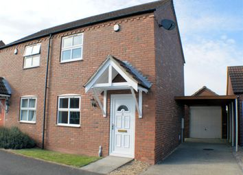 Thumbnail 2 bed semi-detached house to rent in Carr Gate, Billinghay, Lincoln