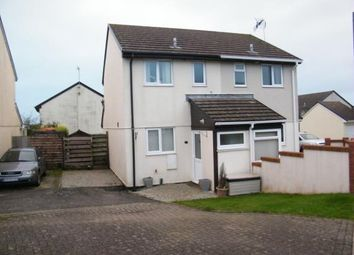 Thumbnail 2 bed semi-detached house for sale in Roche, St. Austell, Cornwall