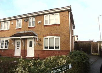 Thumbnail 3 bed semi-detached house for sale in Linwood Grove, Whiston, Prescot