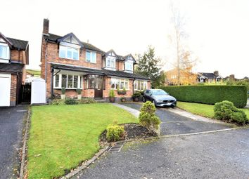 Thumbnail 5 bed detached house for sale in River Bank Way, Glossop