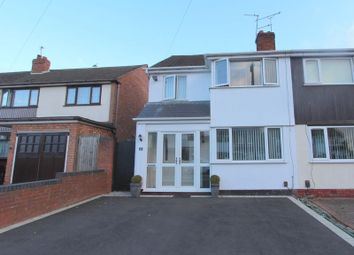 Thumbnail 3 bed semi-detached house to rent in Menai Close, Willenhall