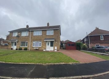 Thumbnail 3 bed semi-detached house for sale in Alandale Avenue, Langwith Junction, Mansfield, Derbyshire
