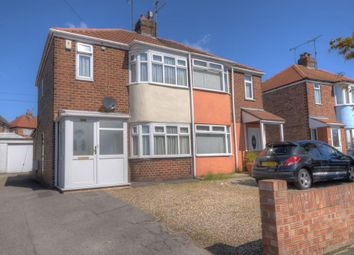 Thumbnail 2 bed semi-detached house for sale in Sewerby Road, Bridlington