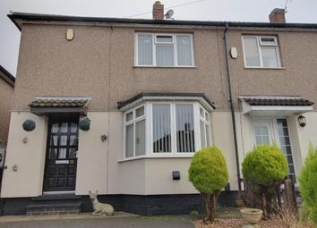 Thumbnail 2 bed end terrace house for sale in Grantham Avenue, Oakwood, Derby