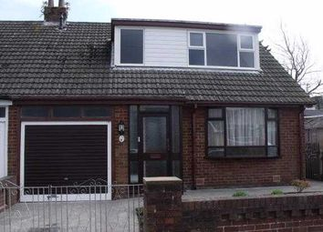 Thumbnail 3 bed bungalow to rent in Ravenswood Avenue, Blackpool