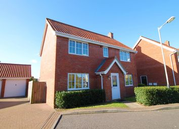 Thumbnail 4 bedroom detached house for sale in Tizzick Close, Norwich