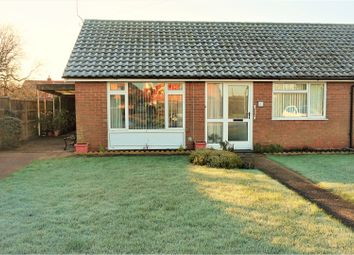 Thumbnail 2 bed terraced bungalow for sale in Kerrs Crescent, Marston, Grantham