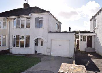Thumbnail 3 bed semi-detached house for sale in 35 Oaklands Road, Bridgend