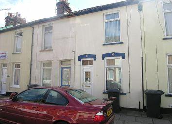 Thumbnail 2 bedroom terraced house to rent in Bulstrode Road, Ipswich
