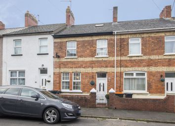 Thumbnail 2 bed terraced house for sale in Annesley Road, Newport
