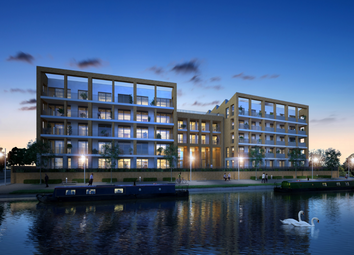 Thumbnail 2 bed flat for sale in Brentford Lock West, Durham Wharf Drive, Brentford, London