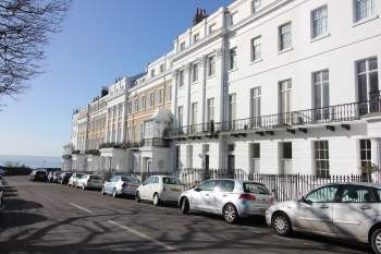 Thumbnail 2 bed flat to rent in Sussex Square Mews, Brighton