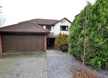 Thumbnail 4 bed detached house for sale in Leander Rise, Burton-On-Trent