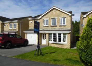 Thumbnail 4 bed detached house for sale in Hurst Crescent, Glossop, Derbyshire