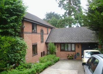 Thumbnail 4 bed detached house to rent in St. Loyes Road, Exeter
