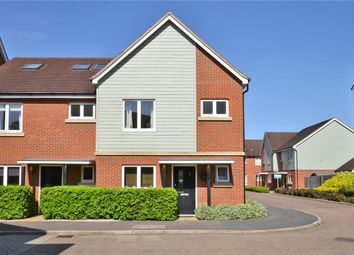 Thumbnail 3 bed end terrace house for sale in Redwood Drive, Epsom, Surrey