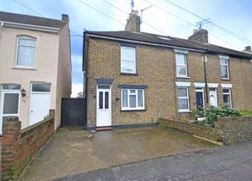 Thumbnail 2 bedroom end terrace house for sale in Chalkwell Road, Sittingbourne
