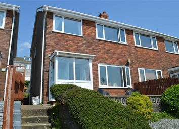 Thumbnail 3 bedroom semi-detached house for sale in Brynmead Close, Swansea