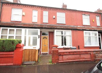Thumbnail 3 bed terraced house to rent in Cumbrae Road, Manchester