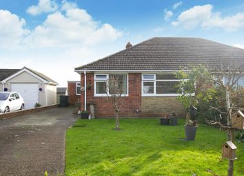 Thumbnail 3 bed semi-detached bungalow for sale in Capel Street, Capel-Le-Ferne, Folkestone
