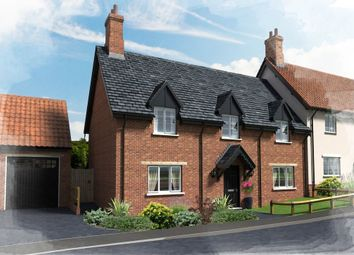 Thumbnail 3 bed semi-detached house for sale in Plot 20, 22 Hill Place, Brington, Huntingdon