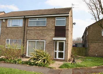 Thumbnail 3 bedroom semi-detached house to rent in Redcroft Green, Blakelaw, Newcastle Upon Tyne