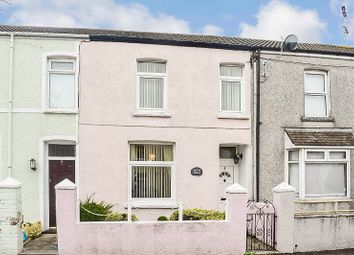 Thumbnail 3 bed terraced house for sale in Cemetery Road, Bridgend