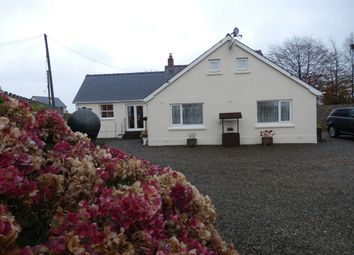 Thumbnail 4 bed detached bungalow for sale in Saron, Llandysul