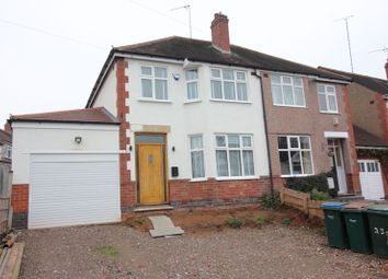 Thumbnail 3 bedroom semi-detached house for sale in Lincroft Crescent, Chaplefields, Coventry