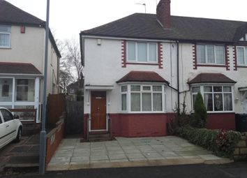 Thumbnail 2 bedroom end terrace house to rent in Crockford Road, West Bromwich