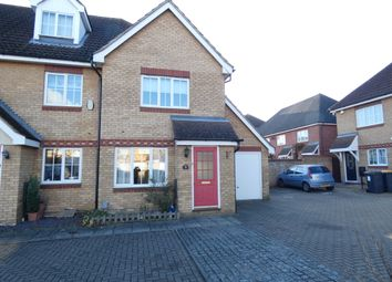Thumbnail 2 bedroom end terrace house to rent in Dorsey Drive, Elstow, Bedford