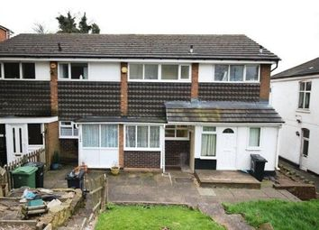 Thumbnail 1 bed terraced house to rent in Himley Road, Dudley, West Midlands