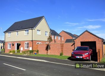 Thumbnail 3 bed detached house for sale in Goldcrest Road, Crowland, Peterborough, Lincolnshire.
