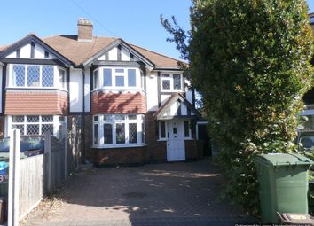 Thumbnail 3 bed semi-detached house to rent in Lime Close, Carshalton